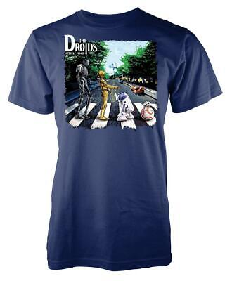 Star Wars The Droids Abbey Road Crossing Mashup Adult T Shirt • 7.99£