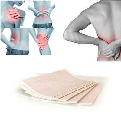 Pain Relief Patches Deep Heat Balm Plasters Pads Muscle Back Aches Herbal Remedy • 1.49£