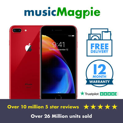 Apple IPhone 8 Plus - 64GB 256GB - (PRODUCT)RED - Unlocked SIM Free Smartphone • 244.99£