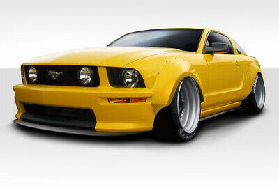 $728 • Buy 05-09 Ford Mustang Duraflex Circuit Wide Body 75MM Fender Flares 4p 112888
