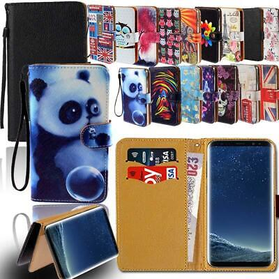 AU6.49 • Buy Leather Smart Stand Wallet Case Cover For Samsung Galaxy Phones