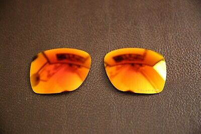 £19.99 • Buy PolarLens POLARIZED Fire Red Iridium Replacement Lens For-Oakley Deviation