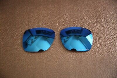 £19.99 • Buy PolarLens POLARIZED Smoke Blue Replacement Lens For-Oakley Deviation