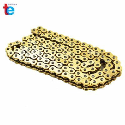 AU43.07 • Buy With O-Ring Drive Chain Gold Color 520 X114 ATV Motorcycle 520 Pitch 114 Links