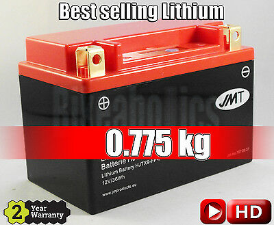 Best Selling Lithium-ion Motorcycle Battery JMT YTX9-BS 75% Lighter • 56.99£