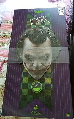 $950 • Buy THE JOKER Quarter Scale Figure By Hot Toys Sideshow Exclusive