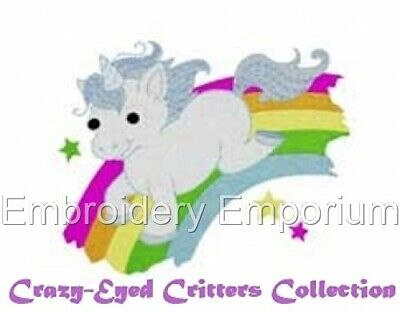 £7.95 • Buy Crazy Eyed Critters Collection - Machine Embroidery Designs On Cd Or Usb