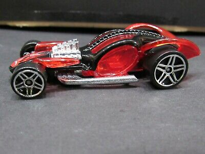 Red/black I Candy 2005 Autogrfx Loose Hot Wheels 1/64 Diecast Car • 2.37£