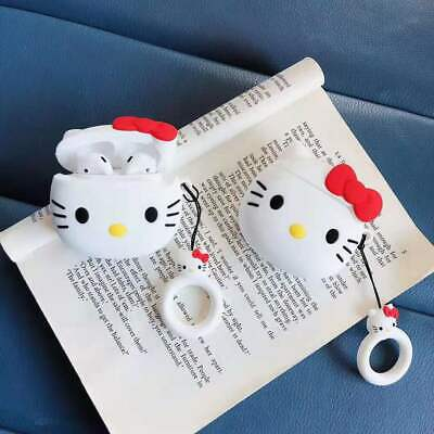 AU11.99 • Buy For Apple AirPods 1/2 Gen Hello Kitty Silicone Cover Skin Earphone Charger Case