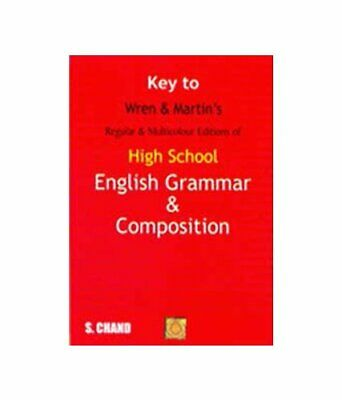 £4.69 • Buy Key To High School English Grammar And Composition By P.C. Wren,H. Martin