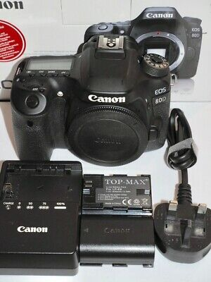 View Details Canon EOS 80D 24.2MP Digital SLR Camera Body With Spare Battery • 529.99£