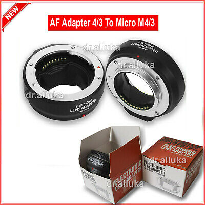 £17.88 • Buy AF Auto Focus Adapter For Four Thirds 4/3 Lens To Olympus Panasonic Micro M4/3