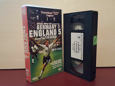 £1.99 • Buy Germany 1 - England 5 - World Cup Football - PAL VHS Video Tape (T1)