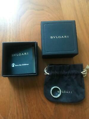 AU500 • Buy Bvlgari Silver And Black Ceramic Ring