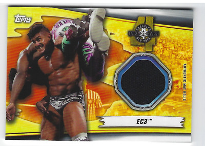 $ CDN23.79 • Buy Ec3 2019 Topps Wwe Summerslam Nxt Takeover Authentic Mat Relic