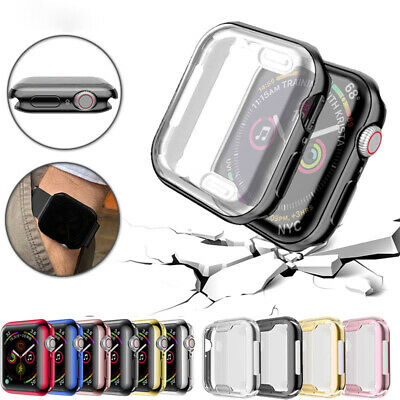 $ CDN5.05 • Buy Full Cover Case Protective Screen Protector Cover For Apple Watch Series 2 3 4
