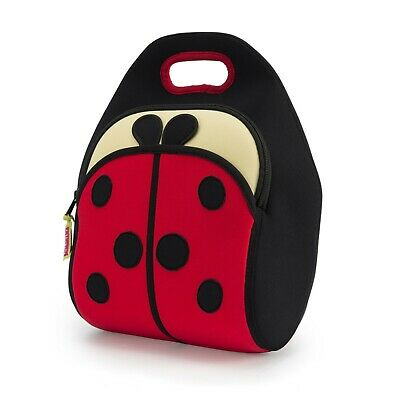 Dabbawalla Bags Ladybug Lunch Bag Preschooler Elementary Insulated Tote Eco • 21.27£