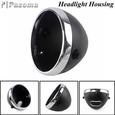 AU44.43 • Buy 7 Inch Motorcycle Front Headlight Housing Headlamp Light Bucket For Harley Dyna