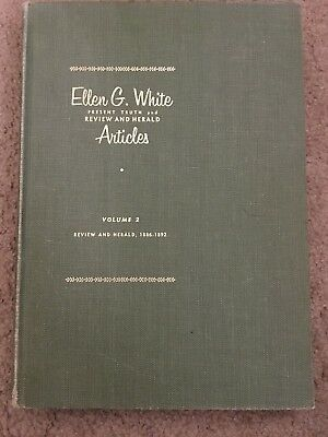 $79.99 • Buy Present Truth And Review And Herald Articles Vol 2 1886-1892 E.G. White EGW SDA