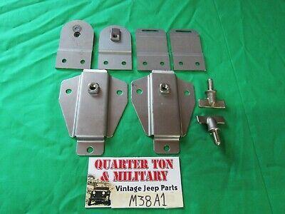 $115 • Buy Jeep Willys M38A1 Top Bow Bracket Kit G758
