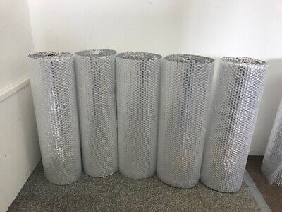 £12.99 • Buy Shed Insulation - Single Foil Bubble Insulation With Tape Option *free Postage*