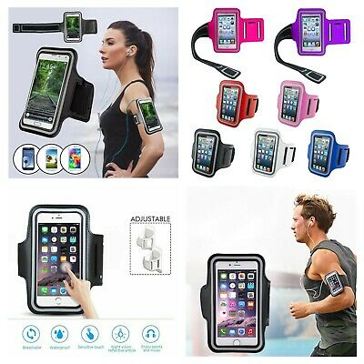 Samsung Galaxy Gym Running Jogging Sports Armband Phone Holder For Various Phone • 5.45£