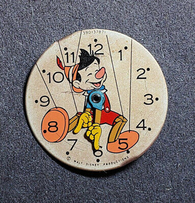 $ CDN39.41 • Buy Vintage Pinocchio Sears Exclusive U.S. Time Character Watch Dial For Parts