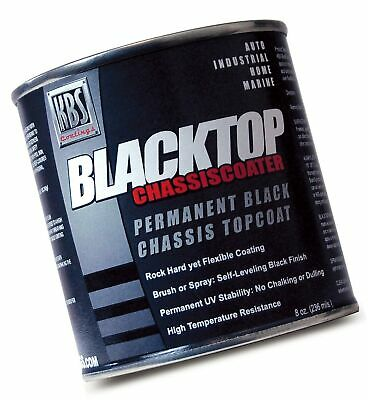 AU43.60 • Buy KBS Coatings 8212 Flat Black BlackTop Chassis Paint - 8 Fl. Oz. 8 Fluid Ounce