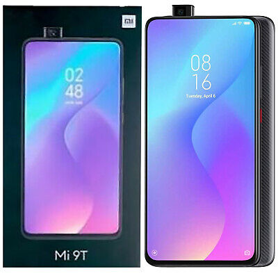 $619 • Buy BNIB Xiaomi Mi 9T Dual SIM 128GB MZB7720EU Carbon Black Factory Unlocked 4G GSM