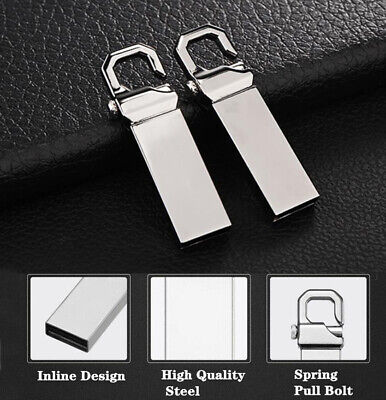 $ CDN19.25 • Buy 2TB USB Metal Flash Drives Memory Flash Drives Pen Drive U Disk PC Laptop Silver