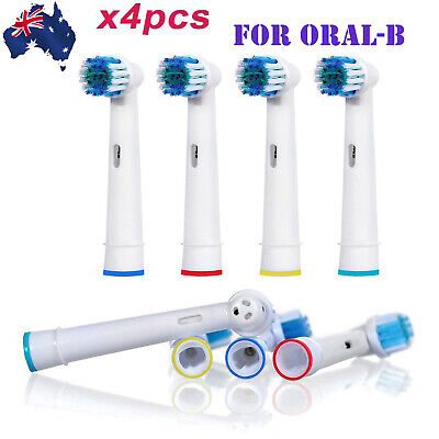 AU5.55 • Buy Electric Toothbrush For Oral B Tooth Cleaner Heads Replacement Soft Brush Head