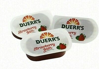 £5.69 • Buy Strawberry Jam Portions Duerrs 20g  Various Quantities
