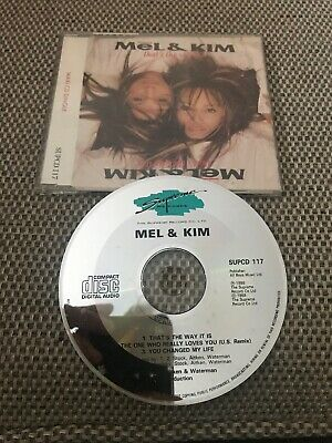 Mel & Kim - That's The Way It Is Rare 1988 CD Single S/A/W Pwl • 13.99£