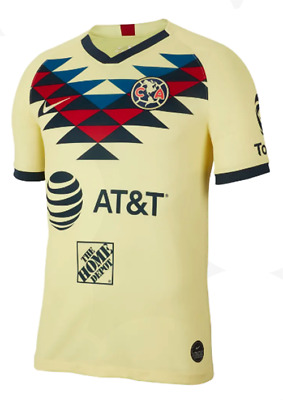 $29.99 • Buy Club America Home Jersey Nike Futbol 2019-2020 Men Size Soccer Jersey
