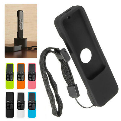 AU2.99 • Buy Remote Controller Case Silicone Protective Cover For Apple TV 4th Gen Siri YK