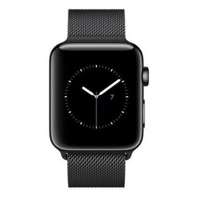 $ CDN322.35 • Buy Apple Watch Series 2 42mm Smartwatch (Space Black Stainless Steel Case, Space Bl