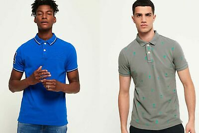 View Details New Mens Superdry Polo Shirts Selection - Various Styles & Colours 1 250719 • 15.99£