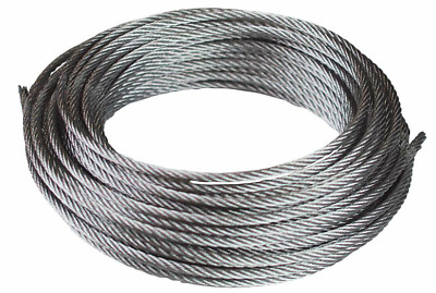 A4 316 Marine Grade Stainless Steel Wire Rope 1mm 1.5mm 2mm 3mm 4mm 5mm 6mm Dia  • 2.41£
