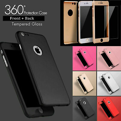 Case Compatible For IPhone 8 7 6 Plus XR XS SE 2 Shockproof 360° Full Body Cover • 2.89£