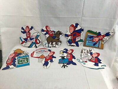 $ CDN32.71 • Buy (8) Great Orig. 1970's Budweiser Bud Man Unused Stickers #2
