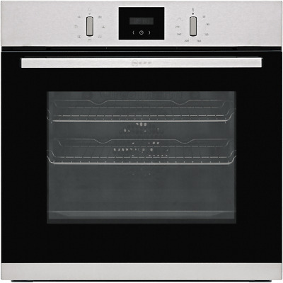£345 • Buy NEFF B1GCC0AN0B N30 Built In 59cm A Electric Single Oven Stainless Steel New