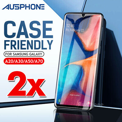 AU5.95 • Buy For Samsung Galaxy S20 FE A42 A21s A11 A51 A71 Tempered Glass Screen Protector