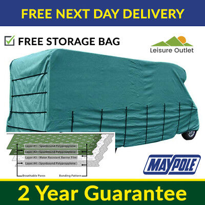Maypole Premier Motorhome Cover - 6.0m To 6.5m – 4 Ply Breathable & Waterproof • 137.99£