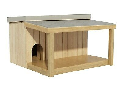 $12.95 • Buy Dog House Plans DIY Large Outdoor Wooden Pet Kennel Shelter With Covered Porch