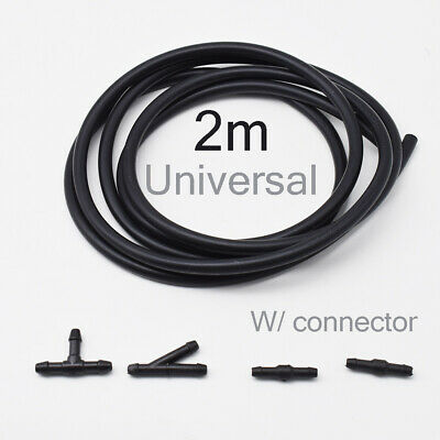 AU12.99 • Buy 2m Windscreen Wiper Washer Jet Tube Pipe Hose W/ Connector T Y For Nozzle Pump