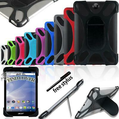 Silicone Soft Back Stand Shockproof Cover Case For 7  8  10  Acer Iconia Tab • 3.99£
