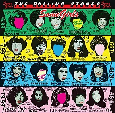 The Rolling Stones - Some Girls [CD] • 7.16£
