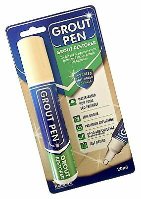 Grout Pen Large Cream - Ideal To Restore The Look Of Tile Grout Lines • 14.87£