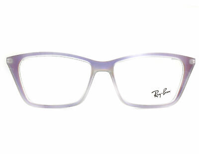 $34.95 • Buy Ray Ban Cat Eye Iridescent Violet Eyeglasses Rx Rb 7022 Shirley 5498 54-14 140