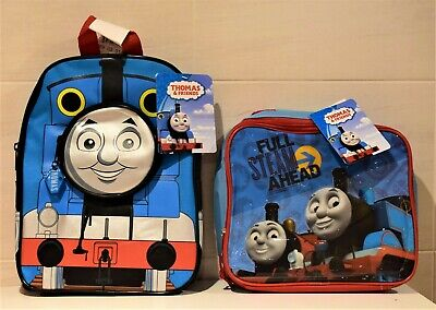 THOMAS THE TANK ENGINE CHILDREN'S  BACKPACK  Or LUNCH BAG  BOX SCHOOL BAG • 7.99£